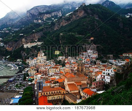 Positano is a coastal city in the Amalfi Coast of Italy