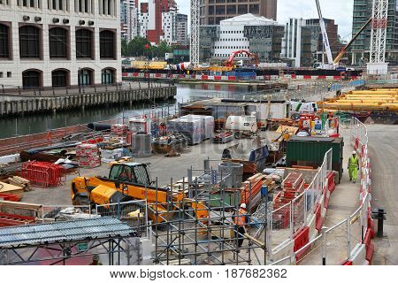 London Construction Works