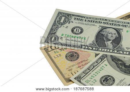 US money dollar for business finance and financial background