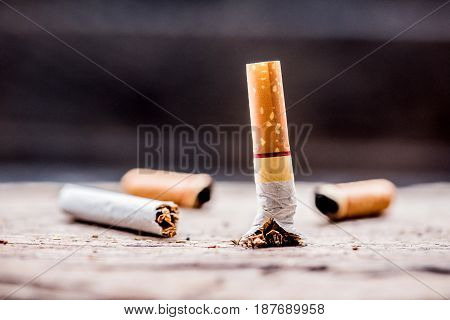 No smoking and World No Tobacco Day