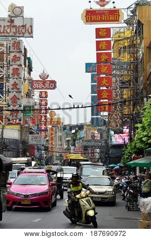 Bangkok Chinatown, A Popular Tourist Attraction