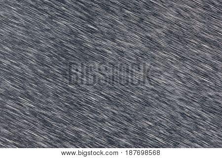 Dark gray diagonal brash metal texture closeup
