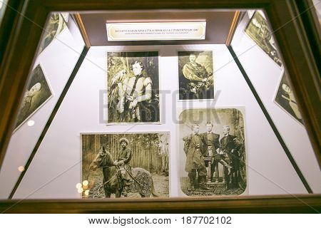 Slutsk, Belarus - May 20, 2017: Museum Of The History Of The Slutsk Belts.