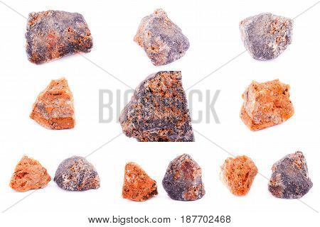Collection Of Stone Mineral Sphalerite
