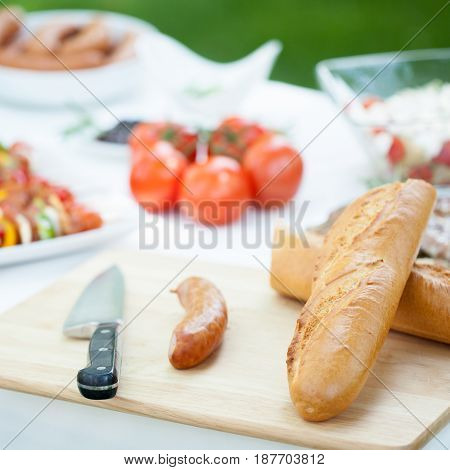 Fresh Tasty Barbecue Dishes