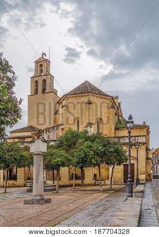 San Pedro (St Peter) is a minor basilica in Cordoba Spain.
