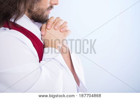 Lord Praying Alone