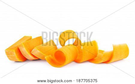 Pumpkin isolated on white background Vegetable, Treat, Trick