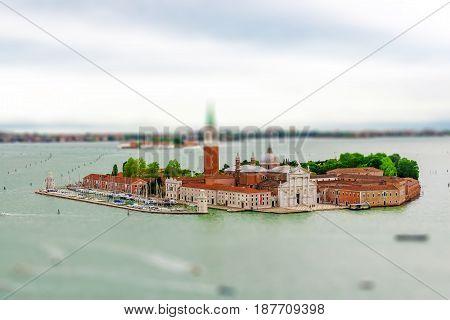 View Of The Church Of San Giorgio Maggiore, The Grand Canal