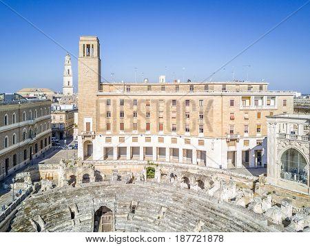 Historic City Center Of Lecce, Puglia, Italy