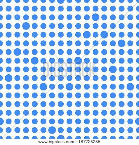 Circles seamless dot abstract geometric pattern. Vector Illustration.