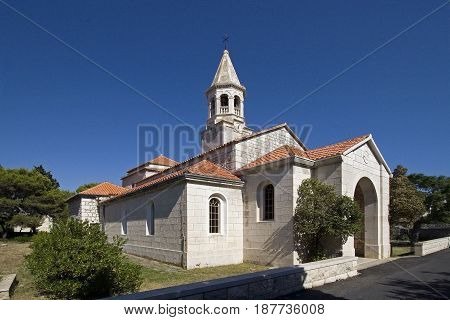 Church of St. John the Baptist was built on the site of an early Christian basilica from the 5th century.