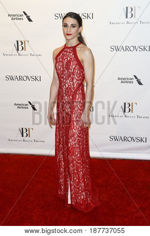 NEW YORK-MAY 22: Sarah Lane attends the American Ballet Theatre 2017 Spring Gala at David H. Koch Theater at Lincoln Center on May 22, 2017 in New York City.