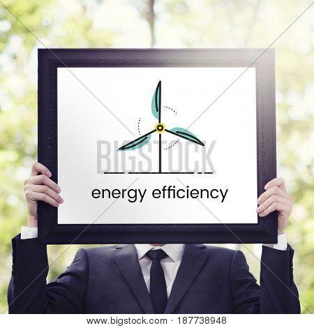 Energy Efficiency Eco Help Environment Concept