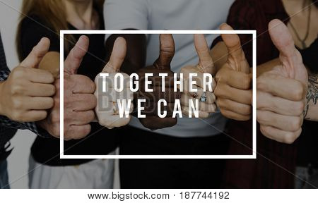 Together community society team support