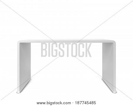 White Modern Table