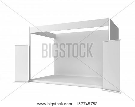 Trade Show Booth With Banner