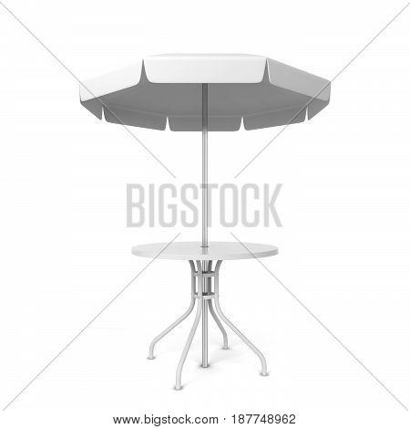 Garden Umbrella With Table
