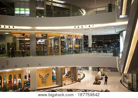 Inside Maya  Lifestyle Shopping Center.