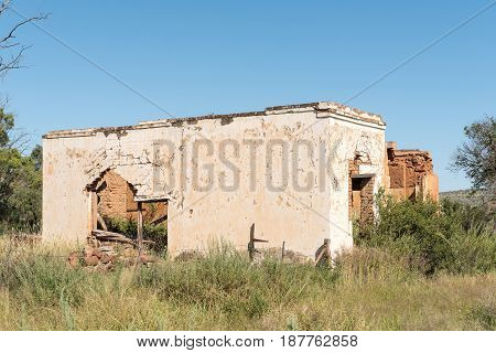 A ruin in Waterkloof a small village near Philippolis in the Free State Province