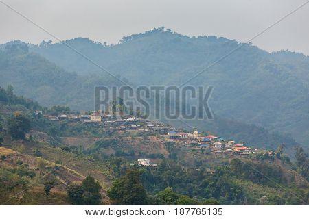 Mae Salong Chinese Village Thailand