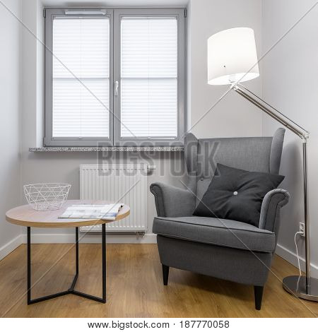 Simple Room With Armchair