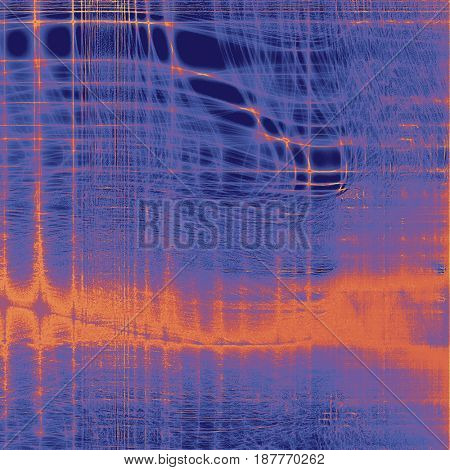 Abstract distressed grunge background. With different color patterns: yellow (beige); brown; blue; red (orange); purple (violet)