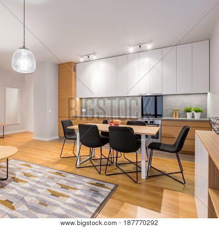 Interior Of Studio Apartment