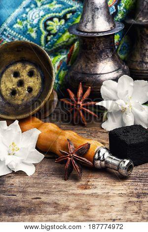 Hookah With Taste Of Jasmine
