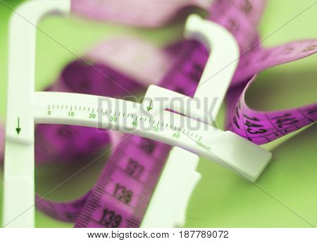 Fat Caliper Measuring Tape