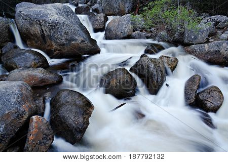 Stream on Guanella Pass in the Colorado Rocky Mountains