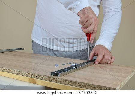 Installing A Drawer Slides
