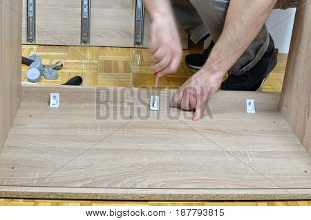 Attaching Elements Of A Furniture