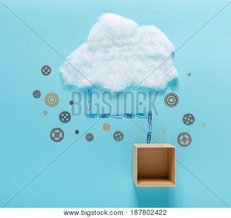 Cloud Computing Concept Image