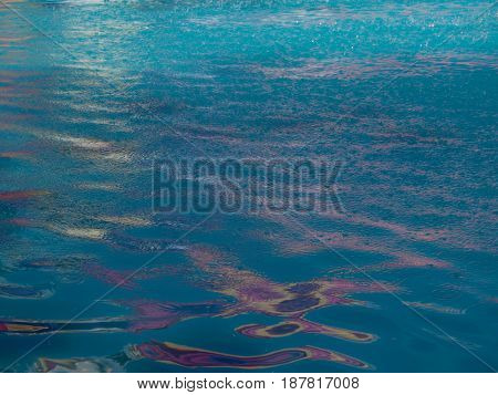 Texture of water and sunlight reflection Background for design.