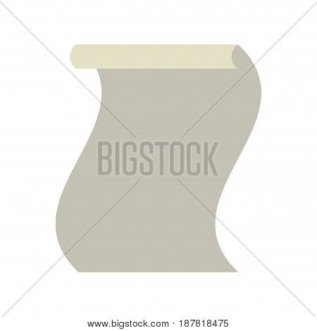 paper sheet to write important document, vector illustration