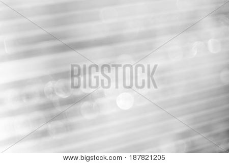 Polycarbonate Blurry With Patches Of Texture Design, Black And White