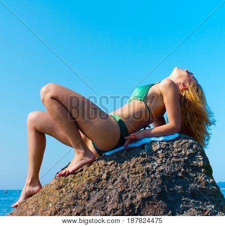 Yoga Summer Sea