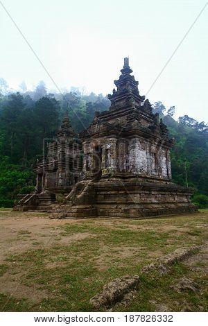 gedong songo temple at ambarawa central java indonesia