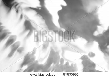 Abstract blur black and white watercolor background.