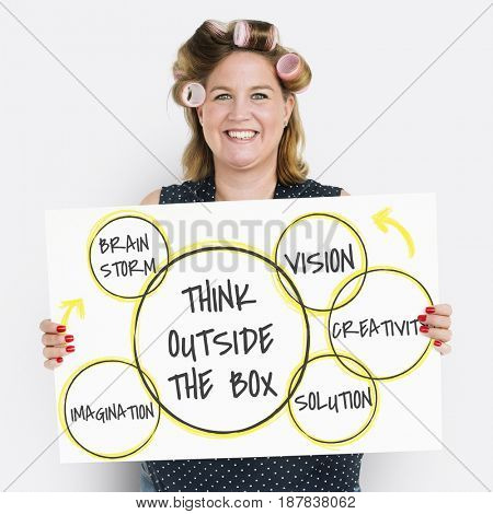 Think Outside the Box Creativity Imagination