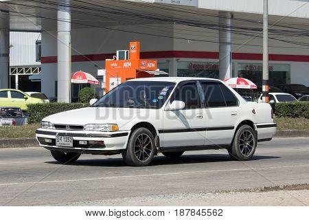 Private Car, Honda Accord.