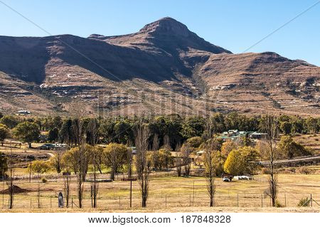 View Of Mountain Countryside And Golf Course