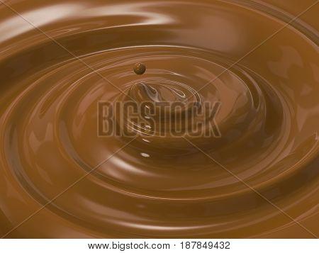 Swirl Melt Chocolate