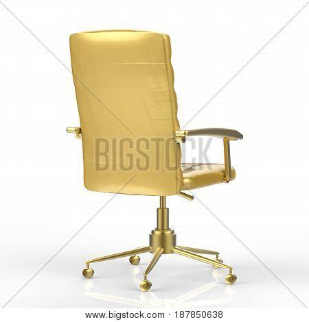 Golden Office Chair