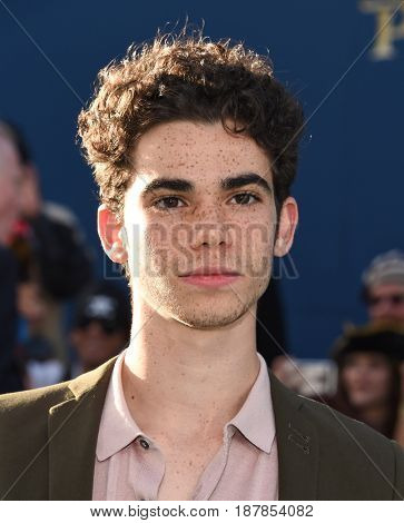 LOS ANGELES - MAY 18:  Cameron Boyce arrives for