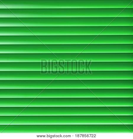 Modern green light blinder close up background