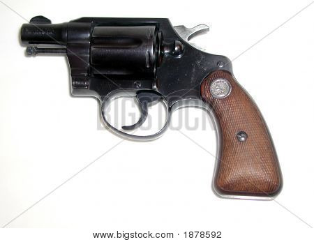 Old Detective Gun - 1950S