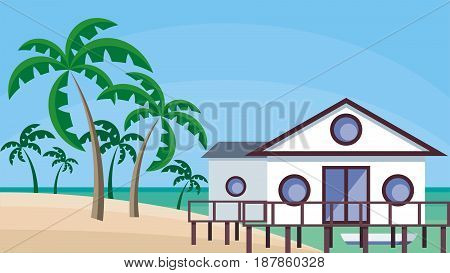 Cottage On The Shore.eps