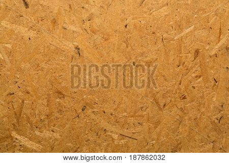 Oriented strand board, OSB, the surface texture
